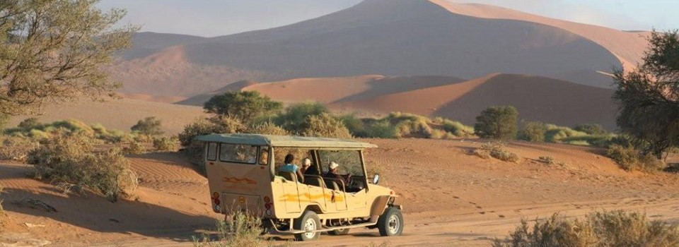 Nature drive at Sossusvlei Lodge